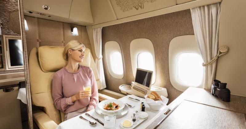 Emirates launch posh new first class cabins